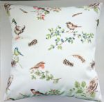 "Cushion Cover in Laura Ashley British Birds 14"" 16"" 18"" 20"""